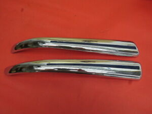 Nos Rare 1941 Ford Truck Upper Grille Chrome Mouldings A 5 13