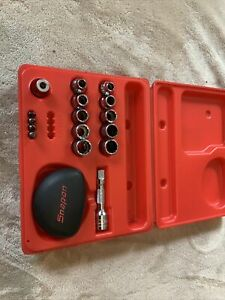 Snap On Palm Socket Wrench Set 3 8 Drive 12 Point