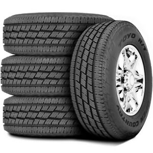 4 New Toyo Open Country H T Ii Lt 225 75r16 Load E 10 Ply Light Truck Tires