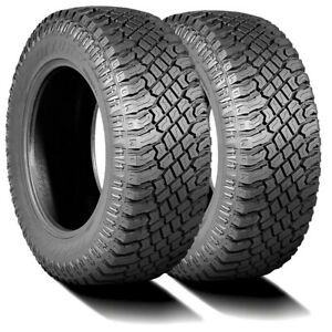 2 New Atturo Trail Blade X t 275 45r20 110h Xl A t All Terrain Tires