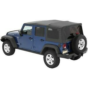 Bestop 54723 35 Soft Top For 2007 2017 Jeep Wrangler jk