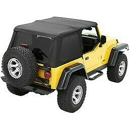 Bestop 56820 35 Soft Top For 97 2006 Jeep Wrangler tj
