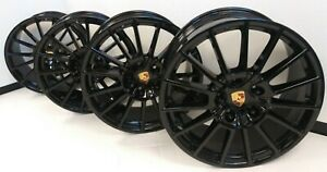 20 2010 16 Porsche Panamera Wheels Rims Oem Factory 970 Turbo 4 S 67417 Bbs