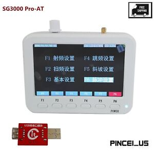 Sg3000 Pro at Rf Signal Generator 25mhz 3ghz Frequency Sweep For At Command Pe66