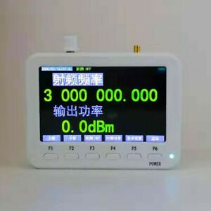 Sg3000 Pro Rf Signal Generator 25mhz 3ghz W Frequency Sweep hopping Ramp Pulse