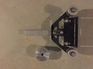 Belt Grinder D backing Plate For 2x72 Knife Grinder Al Wheels And Drive Wheel