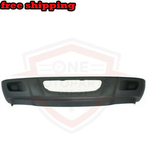 New Front Bumper Lower Valance W O Fog Light Holes Gray For 01 03 Ford Ranger