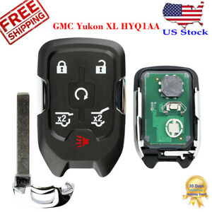 For 2015 2016 2017 2018 2019 Chevy Suburban Tahoe Prox Smart Car Remote Key Fob Fits Tahoe