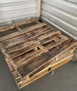 Wood Pallets Used Local Pick Up Or Delivery local shipping Is A Fee O o s