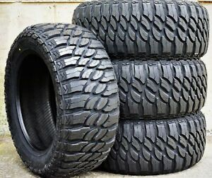 4 New Atlas Paraller M t Lt 33x12 50r20 Load E 10 Ply Mt Mud Tires