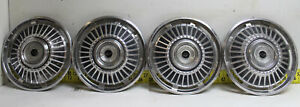 Used Oem Set Of 4 15 Hubcaps 1968 1969 Chevrolet Caprice Impala 2761
