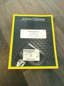 2011 John Deere 2720 Compact Utility Tractor Parts Catalog Pc9791