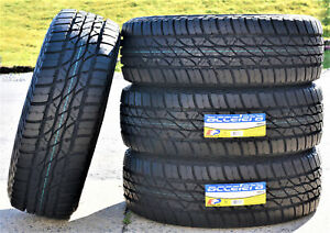 4 New Accelera Omikron A T 285 60r18 116h At All Terrain Tires