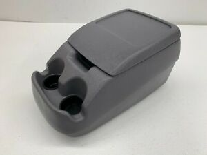 1992 1996 Oem Ford Truck F150 F250 F350 Bronco Front Center Console Grey s7778