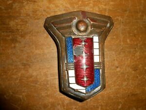 Original 1949 1950 Mercury Eight Series 9cm Cloisonne Oem Emblem