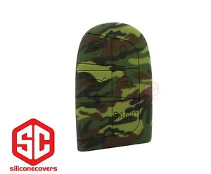 1x New Camouflage Key Fob Remote Fobik Silicone Cover Fit For Dodge Jeep