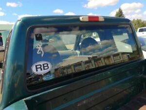 Back Glass Fixed Tinted Fits 98 11 Ranger 227310