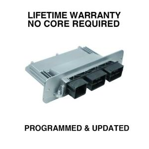 Engine Computer Programmed Updated 2009 Ford Van 9c2a 12a650 Sg Pvv6 5 4l