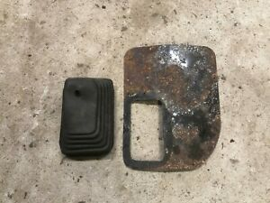 Jeep Wrangler Yj Automatic Transmission Shift Shifter Boot Floor Plate Oem