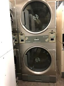 Laundromat laundry Huebsch Stack Dryer As is Condition P n 1 9177313713