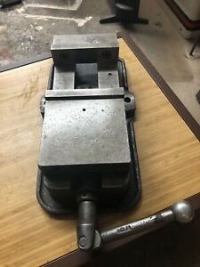 Kurt Anglock 6 Cnc Milling Machine Vise With Handle Machinist Vise