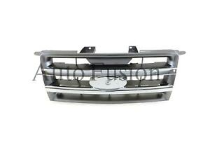 Front Grill In Chrome grey For Ford Ranger Pj 2006 2009