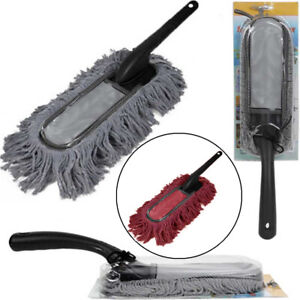 Super Car Cleaning Duster Home Auto Wax Treated Microfiber Plastic Handle Brush
