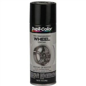 Dupli Color Wheel Paint Gloss Black 12 Oz Made In Usa 7201 184