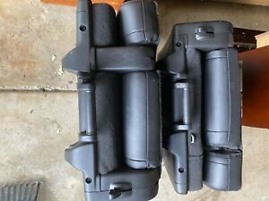Chevy Gm Oem Suburban Black 3rd Third Row Seats 2008 In Excellent Condition