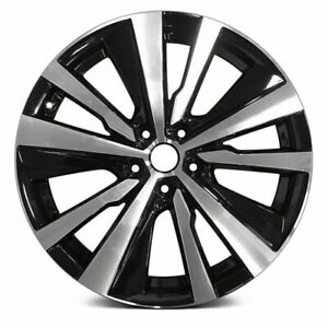 New 19 X 8 Cnc Black Replacement Wheel Rim For 2019 2020 Nissan Altima