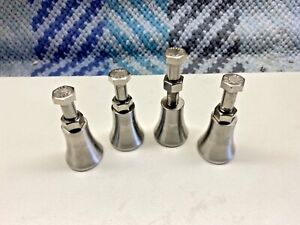 Machinist Jacks Set Of Four Made From 304 Stainless In Usa 12 Pcs Total