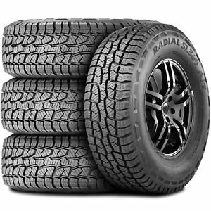 4 New Westlake Radial Sl369 A T 265 65r17 112s At All Terrain Tires
