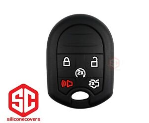 1x New Keyfob Remote Fobik Silicone Cover Fit For Select Ford Lincoln Vehicles