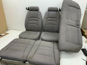 1994 1998 Oem Ford Mustang Front And Rear Seats Cloth 94 98 S7810