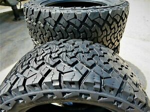 2 Venom Power Terra Hunter X T Lt 285 70r17 Load E 10 Ply A T All Terrain Tires