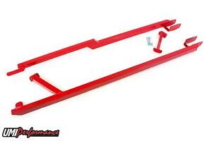Umi Performance 82 92 Camaro F Body Boxed Style Weld In Subframe Connectors Red