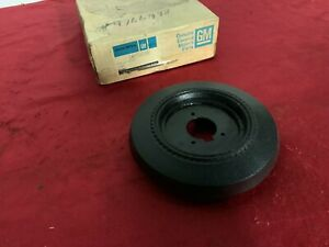 Nos 1981 Buick Sport Steering Wheel Horn Button Gm 9766998 Dk Blue 81
