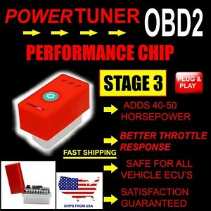 A Add Max Hyper Performance Gas fuel Saver Tuner Chip For Chevrolet Pickup