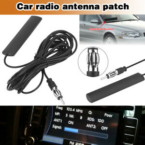 Car Interior Hidden Amplified Antenna Electronic Stereo Am Fm Radio Universal