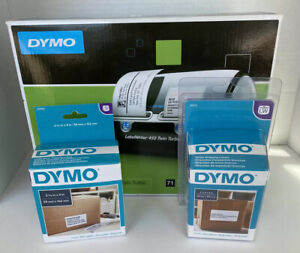 Dymo Labelwriter Twin Turbo Thermal Printer Includes 2 New Dymo Label Rolls New