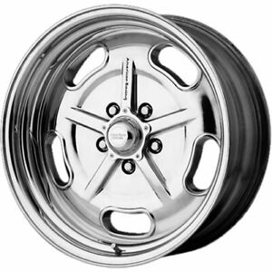 4 17x8 Polished Wheel American Racing Vintage Salt Flat Vn511 5x4 75 0