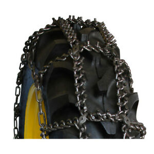 Tractor Talon Studded 14 9 24 Tractor Tire Chains 14924ast