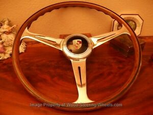 Fits Porsche 356 A Nardi C Steering Wheel Wood 1950 s 356 A Vdm Horn Button
