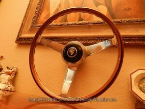 Nardi Steering Wheel To Fit Porsche 356 B C Wood 42 Cm Prototipo Made 68 N o s
