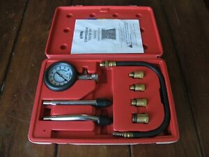 Us General 8 Piece Automotive Compression Test Kit With Case W Instructions