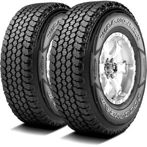 2 Goodyear Wrangler All Terrain Adventure With Kevlar 255 70r16 111t A T Tires