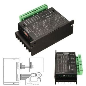 Single Tb6600 Stepper Motor Driver Controller Micro step Cnc Axis 2 4 Phase T On