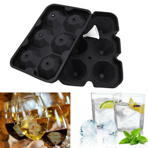 Ice Cube Ball Maker Diamond Mold 2 5 Silicone Jelly Mould Cocktail Whiskey