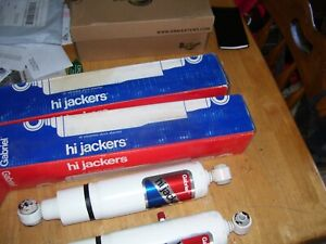 2 Gabriel 39132 Hi Jacker Adjustable Air Shocks Rear Pair Imperial