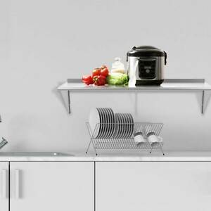 18 X 72 New Stainless Steel Restaurant Large Kitchen Wall mount Shelf Storage